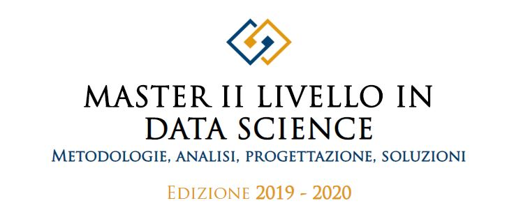 Master DATA SCIENCE 2019 2020